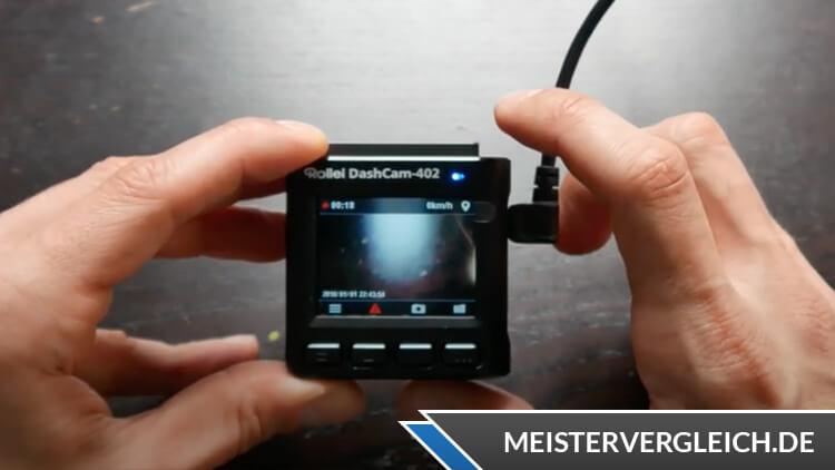 Rollei Dashcam 402 Display