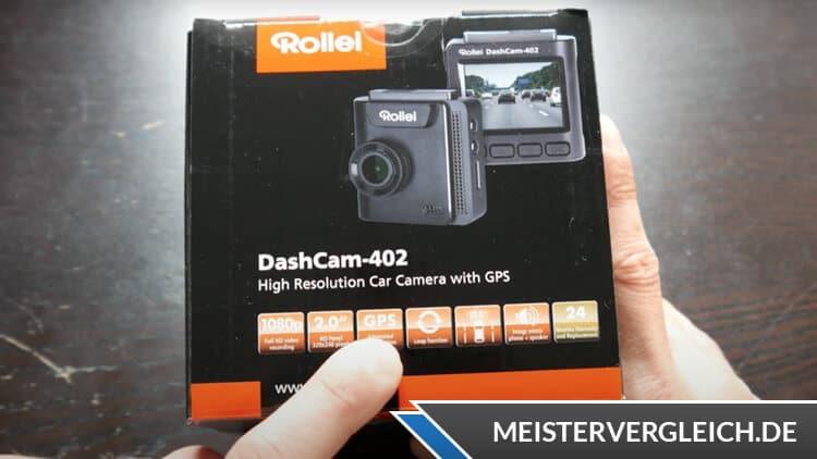 Rollei Dashcam 402 Verpackung