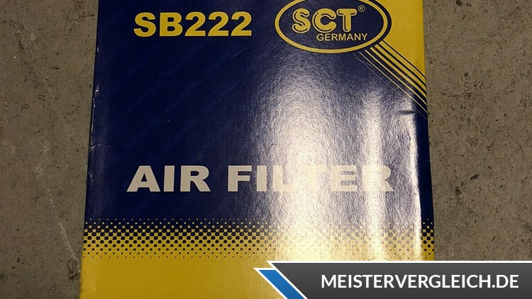 SCT Luftfilter Verpackung