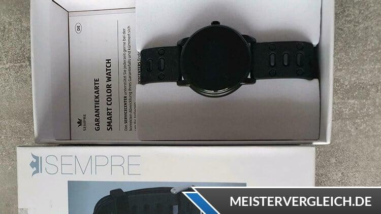 SEMPRE Smart Color Watch Test