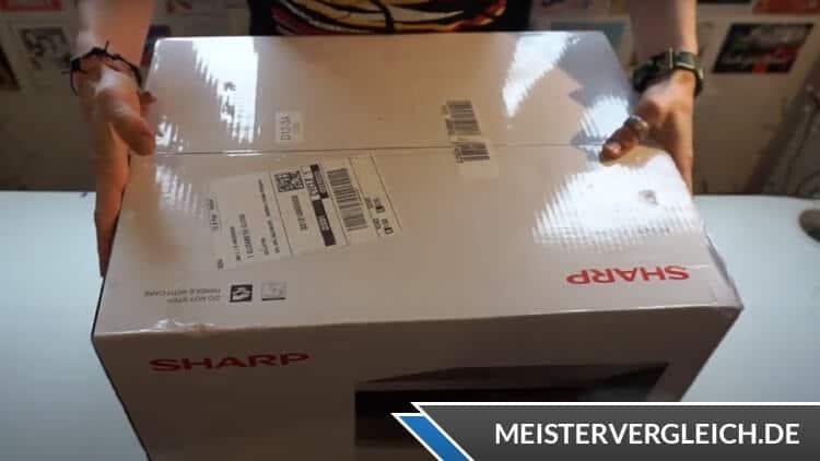 SHARP YC-MG01ES Unboxing