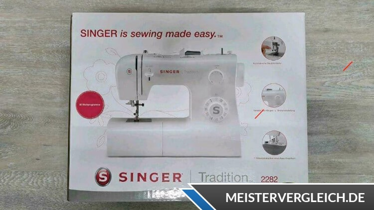 SINGER Tradition 2282 Verpackung