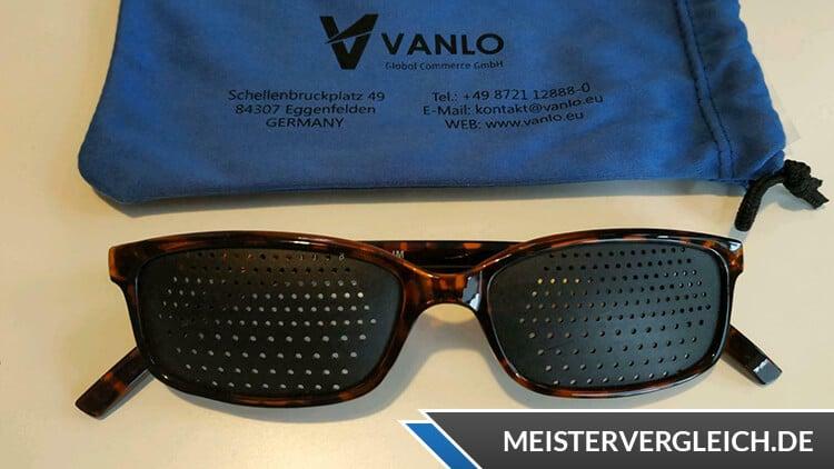 Stiftung Warentest Rasterbrille
