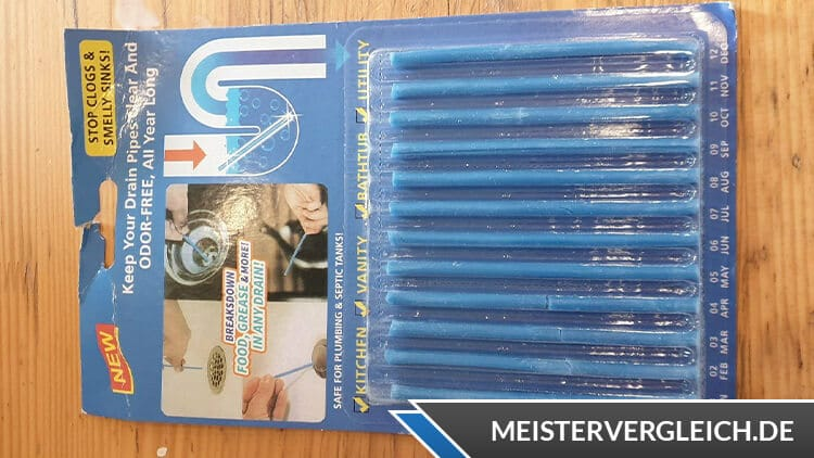 Abflussreiniger Sticks Test Erfahrungen Drain Sticks 2020