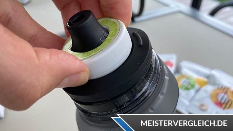 air up Trinkflasche Duft-Pod aktivieren
