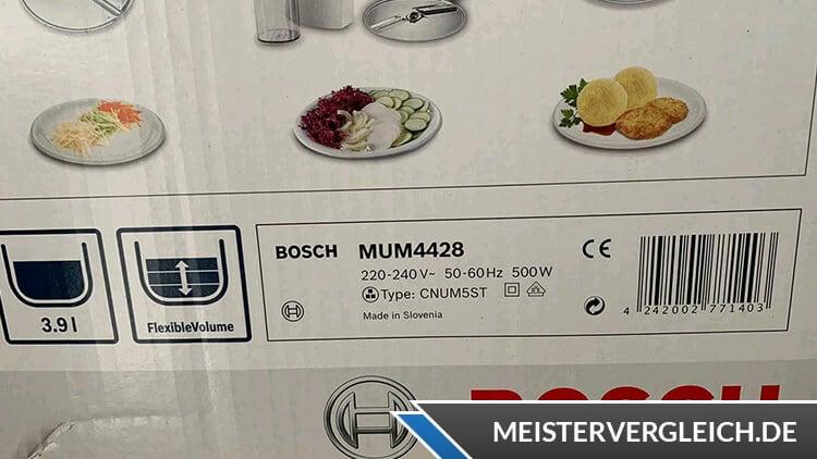 Bosch MUM 4428 Verpackung