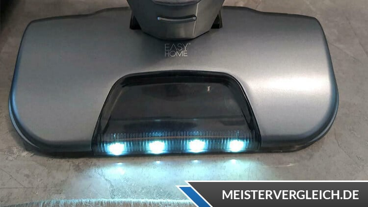 EASY HOME 2-in-1 Akku-Staubsauger LED Licht