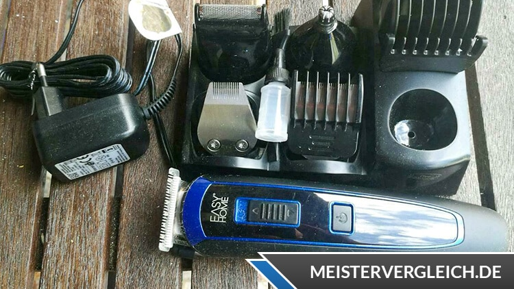 EASY HOME Akku-Haarschneide-Set Test