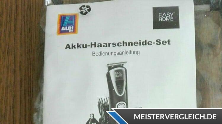 EASY HOME Akku-Haarschneide-Set Vergleich