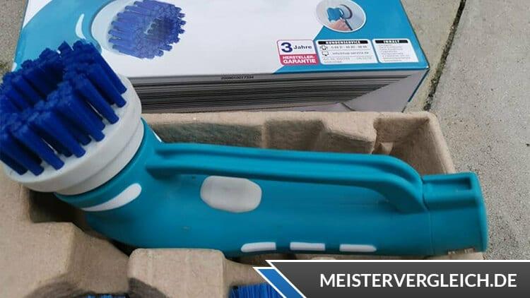 EASY HOME Elektrische Reinigungsbürste Rundbürste