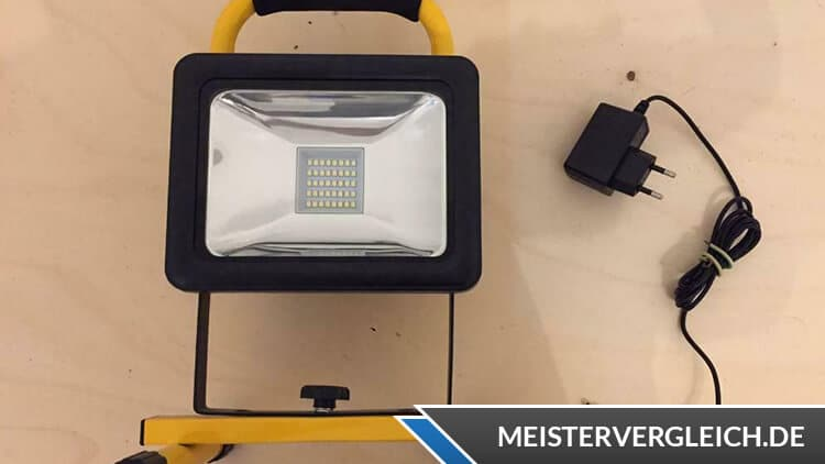 LIGHTWAY LED Baustrahler Test