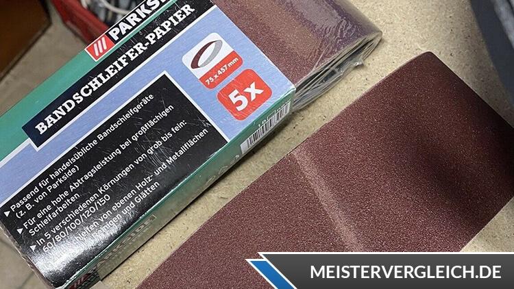 PARKSIDE Bandschleifer Dragster PBSD 600 A1 Schleifpapier