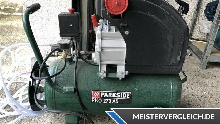 PARKSIDE Kompressor Test
