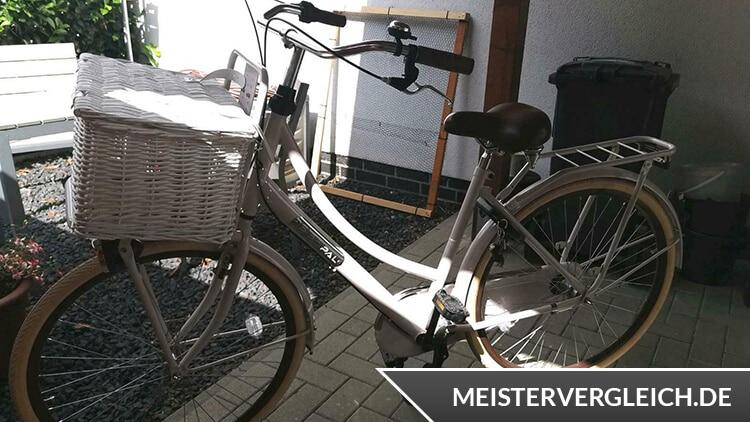 Popal Fahrrad mit Gepäckträger