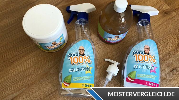 Pure 100 Reiniger Test