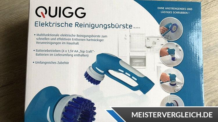 QUIGG Elektrische Reinigungsbürste Verpackung