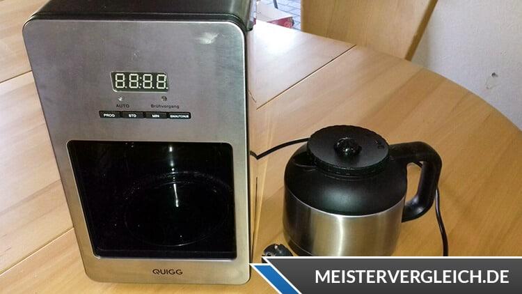 QUIGG Thermo-Kaffeeautomat Bewertung