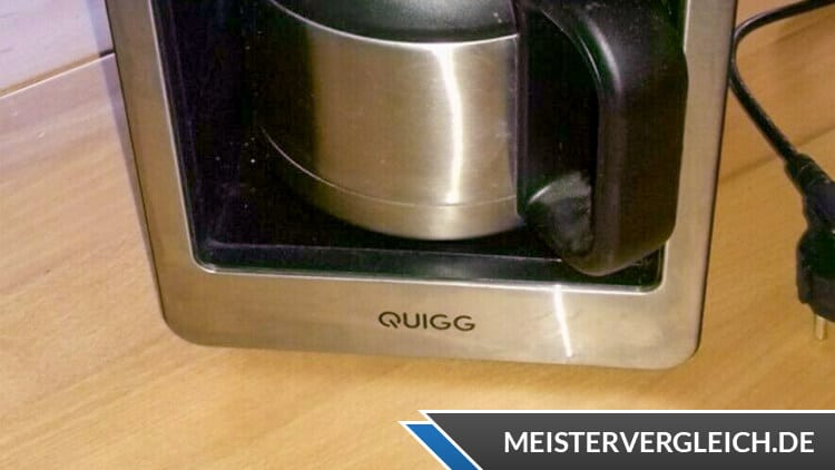 QUIGG Thermo-Kaffeeautomat Test