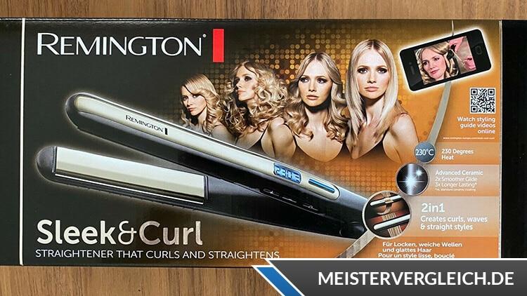 REMINGTON Pro-Sleek & Curl S6540 Verpackung