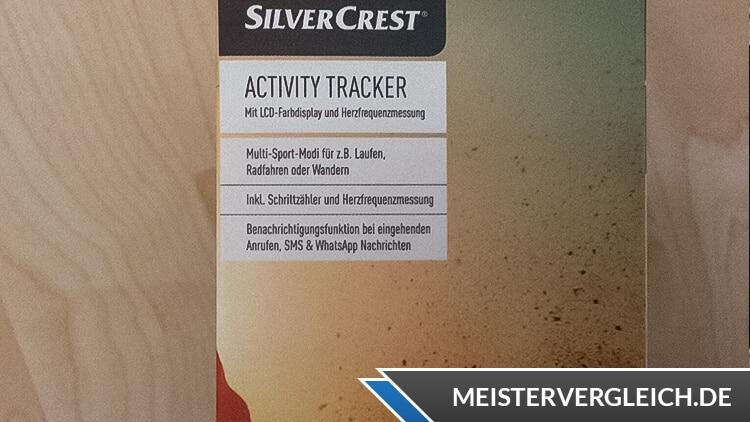 SILVERCREST Activity Tracker Verpackung