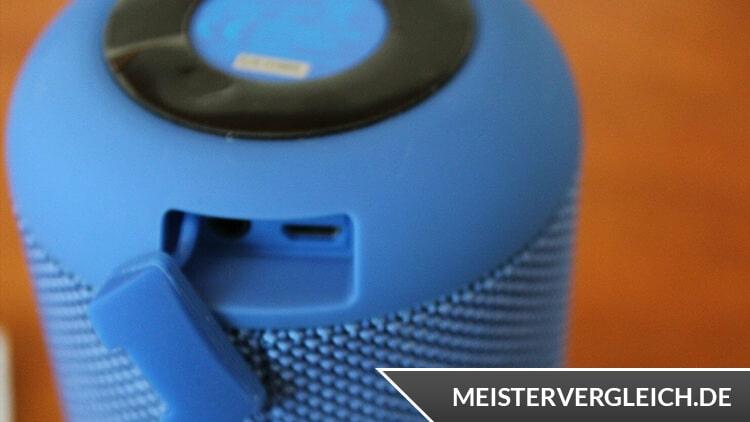 SILVERCREST Bluetooth Lautsprecher Anschlüsse
