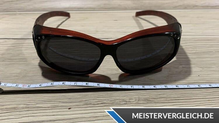 Überzieh-Sonnenbrille Breite