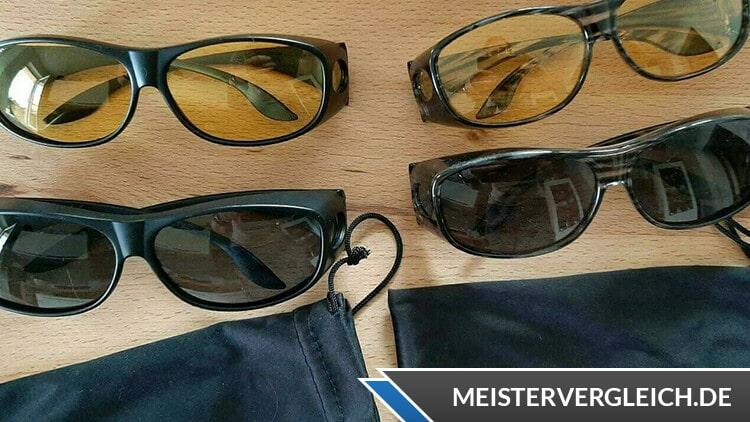 Überzieh-Sonnenbrillen im Test