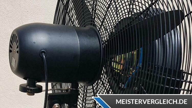 Ventilator mit Sprühnebel Test