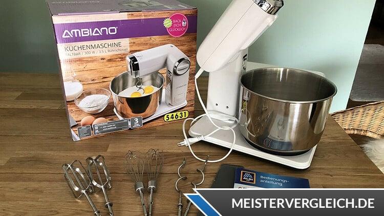 AMBIANO Faltbare Küchenmaschine Test