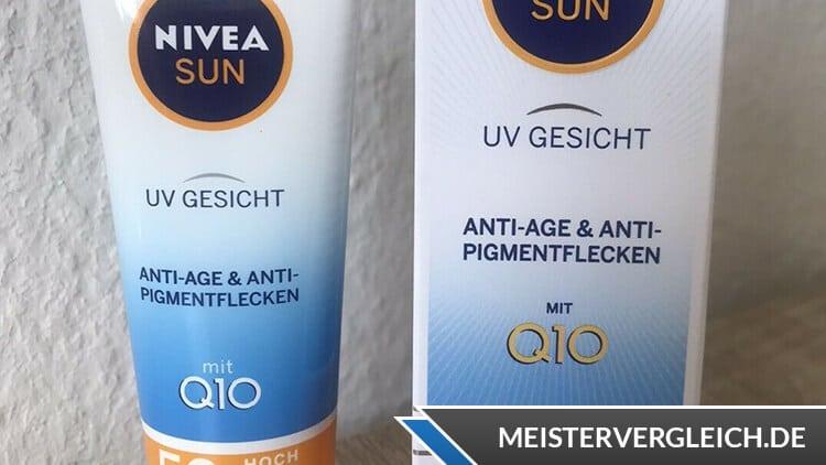 Anti-Age und Anti-Pigmentflecken Test