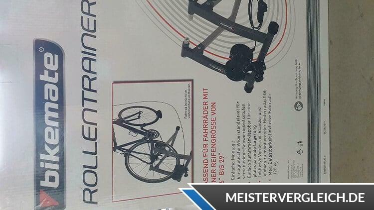 Bikemate Rollentrainer Garantiekarte