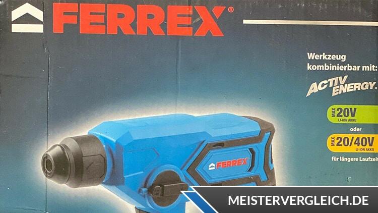 FERREX Akku-Bohrhammer Verpackung