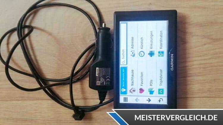 GARMIN Navigationsgerät Drive 5 Pro Menü