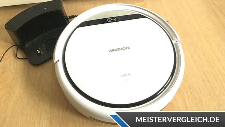 MEDION MD 19900 Saugroboter Test