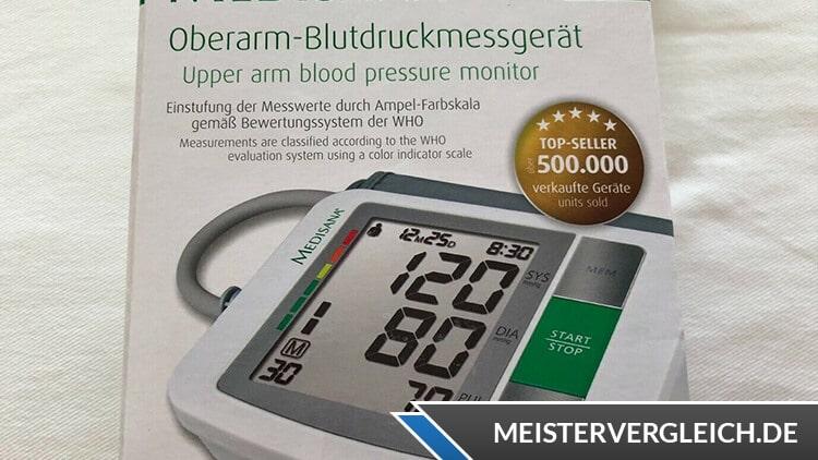 MEDISANA Blutdruckmessgerät BU 510 Verpackung