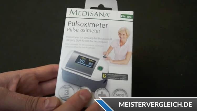 MEDISANA Pulsoximeter PM A10 Verpackung