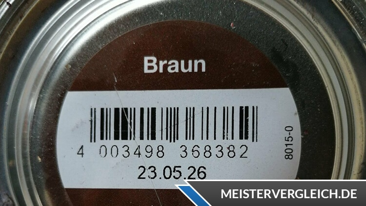 Metallschutzlack 3 in 1 braun