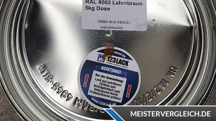 Metallschutzlack 3 in 1 Deckel