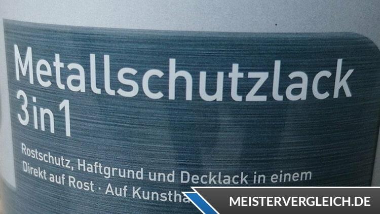 Metallschutzlack 3 in 1 von Bauhaus