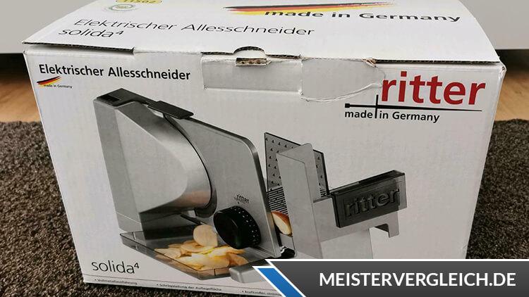 Ritter Solida 4 Verpackung