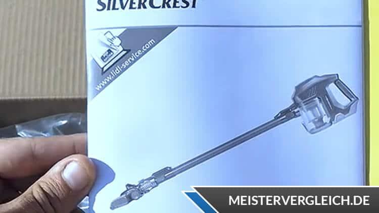 Silvercrest Akku-Staubsauger Bedienungsanleitung