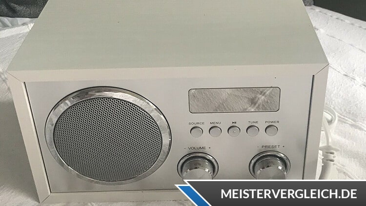 TERRIS audio tragbares DAB+ Radio Test