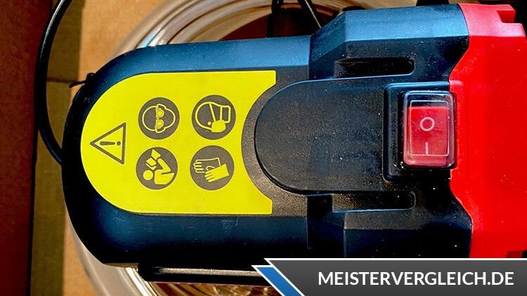 ULTIMATE SPEED Ölpumpe Sicherheitshinweise
