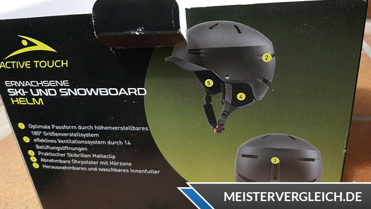 ACTIVE TOUCH Skihelm Verpackung
