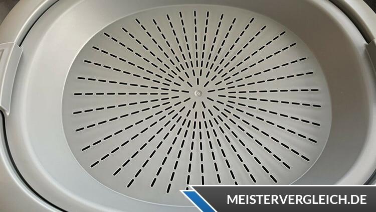 AMBIANO Küchenmaschine Dampfgaraufsatz