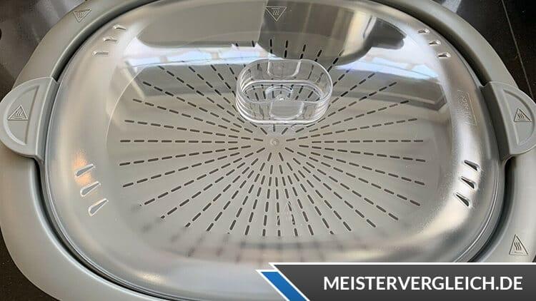 AMBIANO Küchenmaschine Garkorb Deckel