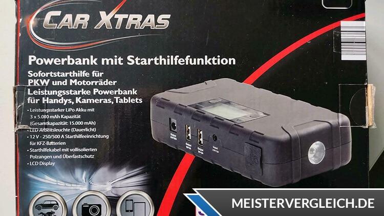 CAR XTRAS Powerbank Unboxing