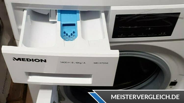 MEDION Waschtrockner Waschmittelfach