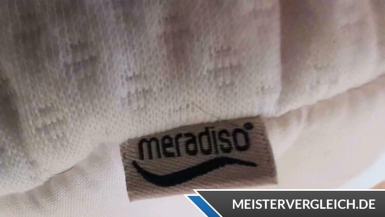 MERADISO Topper Etikett