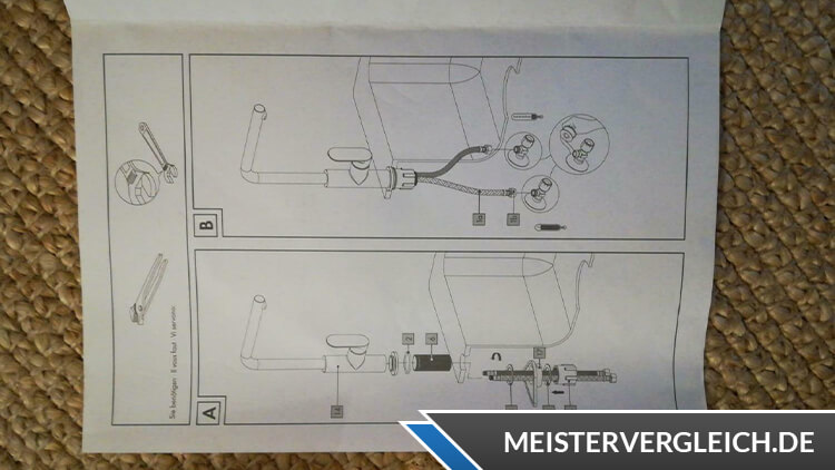 MIOMARE LED-Armatur Anleitung